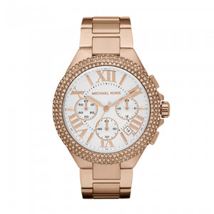 Michael Kors Camille Chronograph Rosegold Women's Watch MK5636