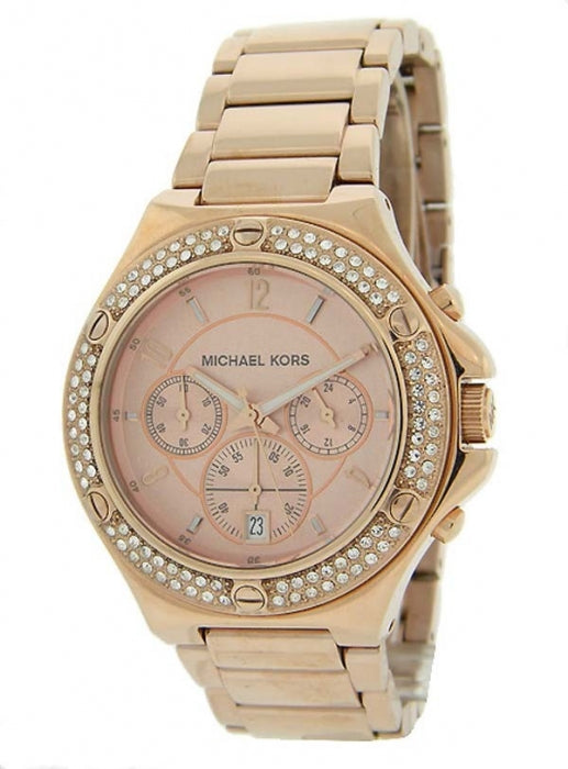 Michael Kors Rose Gold Glitz Women's Watch MK5450