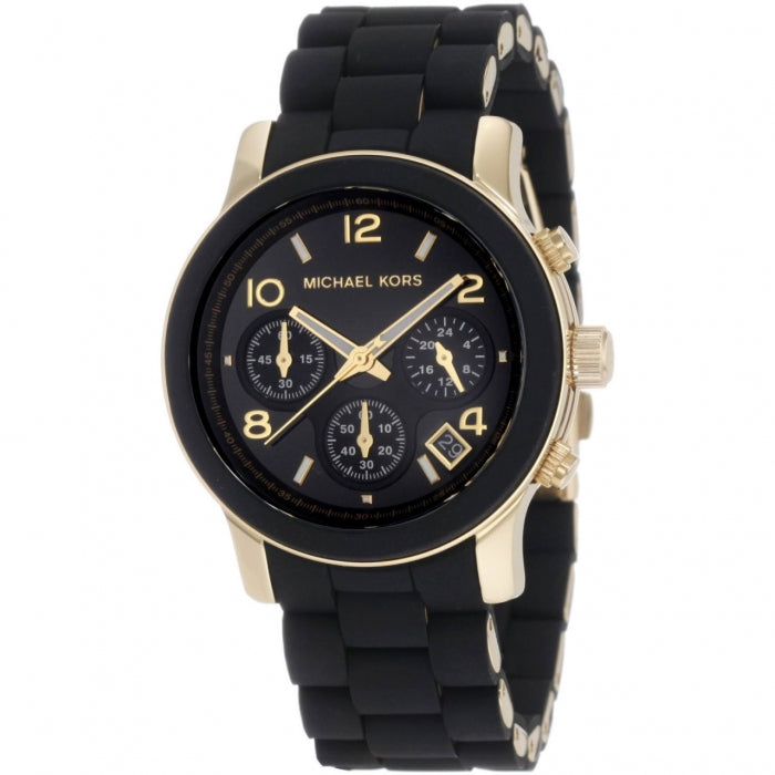 Michael Kors Runway Chronograph Black Women's Watch MK5191