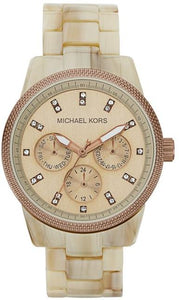 Michael Ritz Sand Acetate Women's Watch MK5641