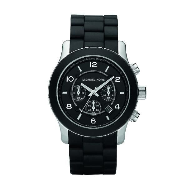 Michael Runway Chronograph Black Men's Watch MK8107