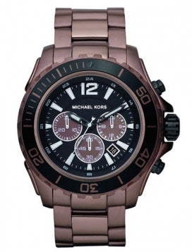 Michael Black Dial Brown Titanium Men's Watch MK8232