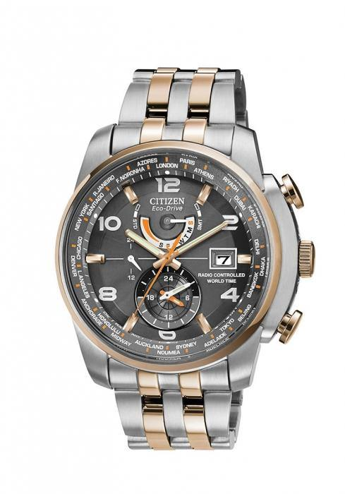 Citizen Men's AT9016-56H World Time A-T Watch