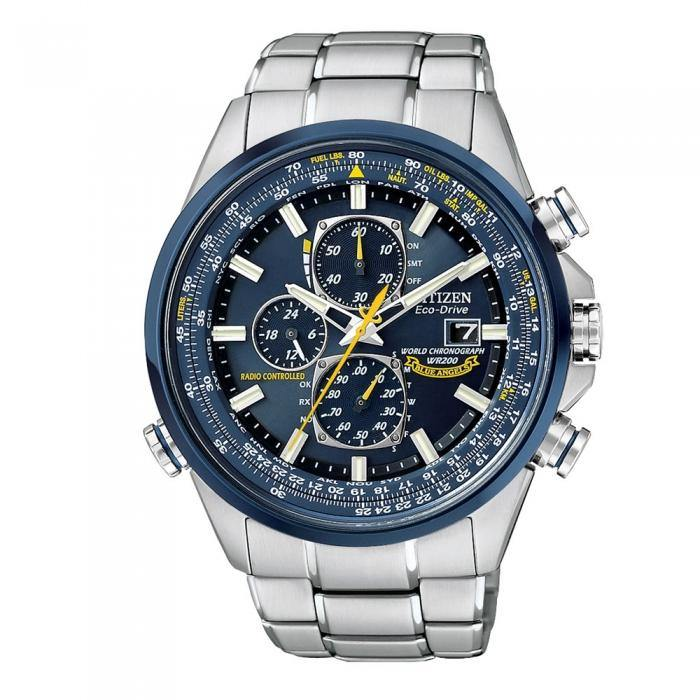 Citizen Men's AT8020-54L Blue Angels World Chronograph A-T Watch