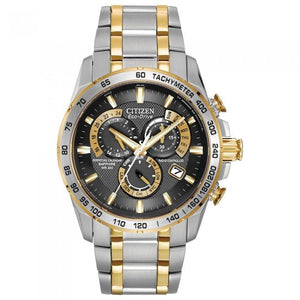Citizen Men's AT4004-52E Two Tone Perpetual Chrono A-T Watch