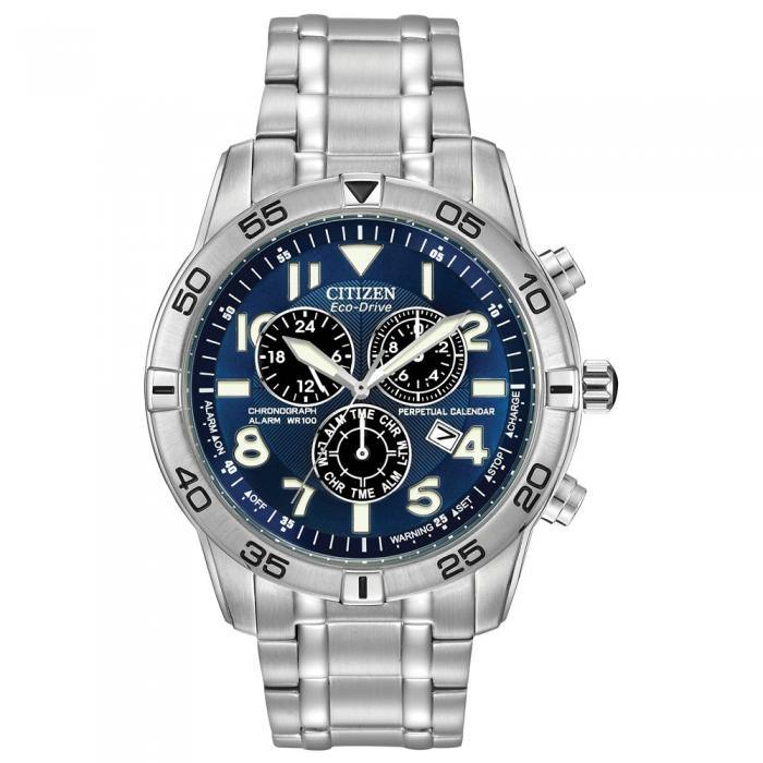 Citizen Men's BL5470-57L Perpetual Calendar Chronograph Watch