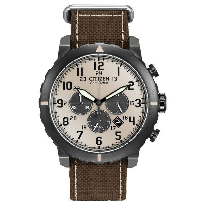 Citizen Men's CA4095-04H Military Chronograph Watch