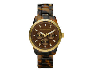 Michael Kors Tortoise Jet Set MK5038 Women's Watch