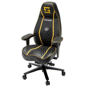 Outstanding Stealth Black Swagger Wildcard Gaming Pdpeps Interior Chair Design Pdpepsorg