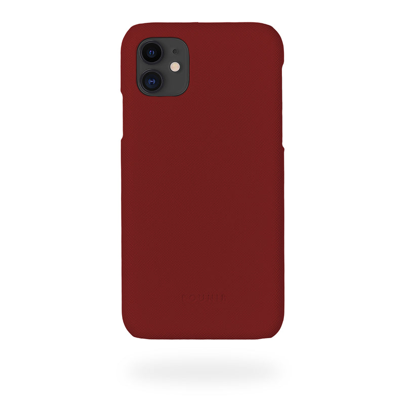 Burgundy Mobilskal iPhone 11