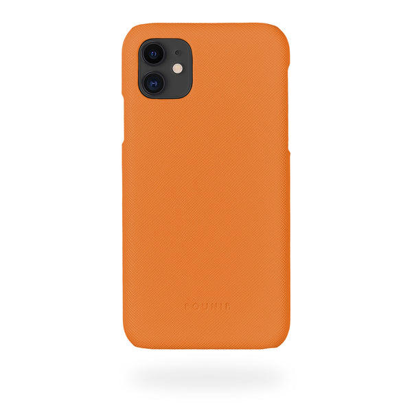 Orange Mobilskal iPhone 11