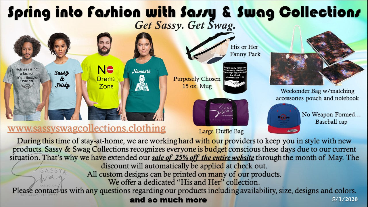 Spring into Fashion with Sassy & Swag Collections