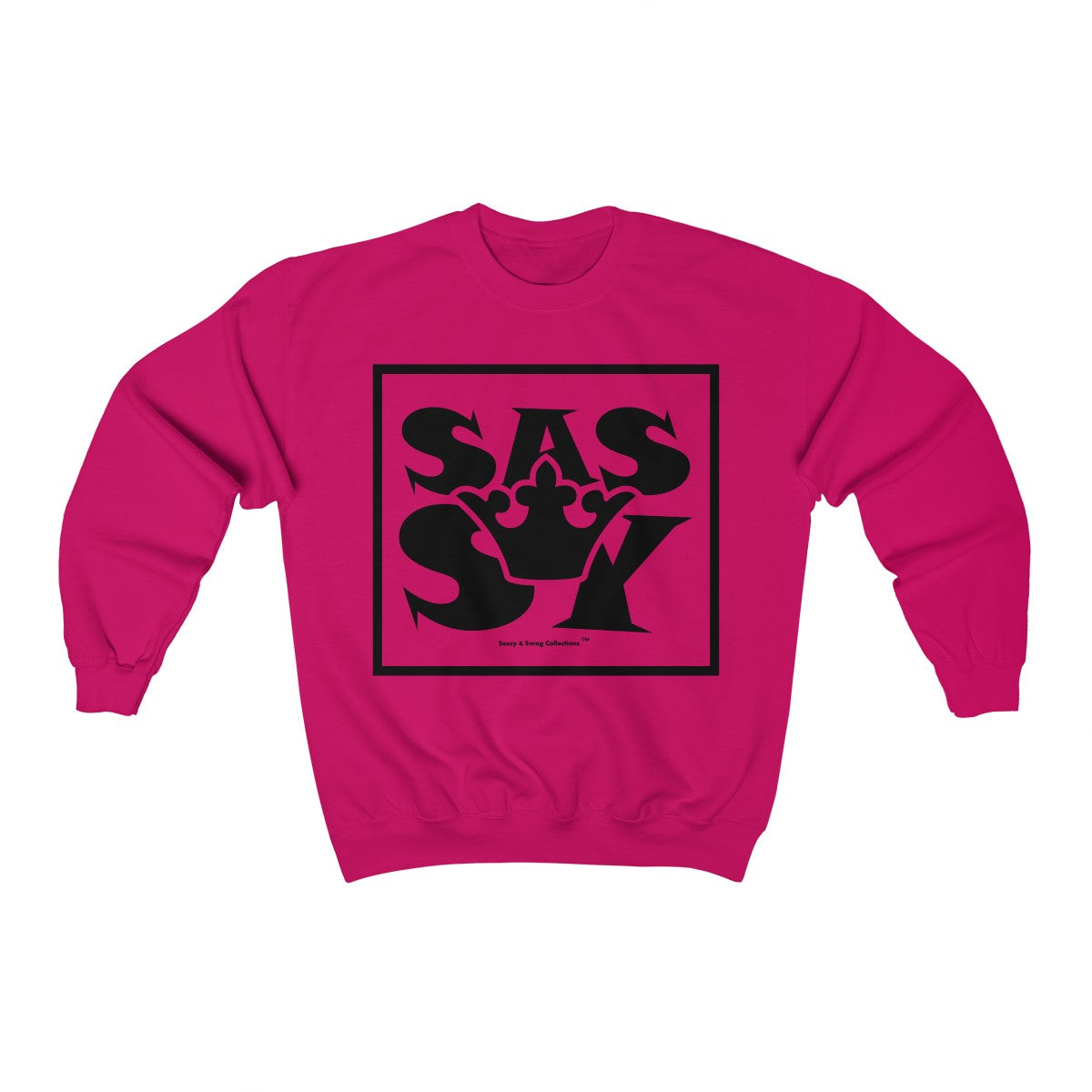 Sassy & Swag Collections - Sassy Queen Women's Heavy Blend™ Crewneck Sweatshirt