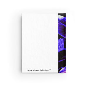 The Intimate Place Purple Leaf Journal - Ruled Line