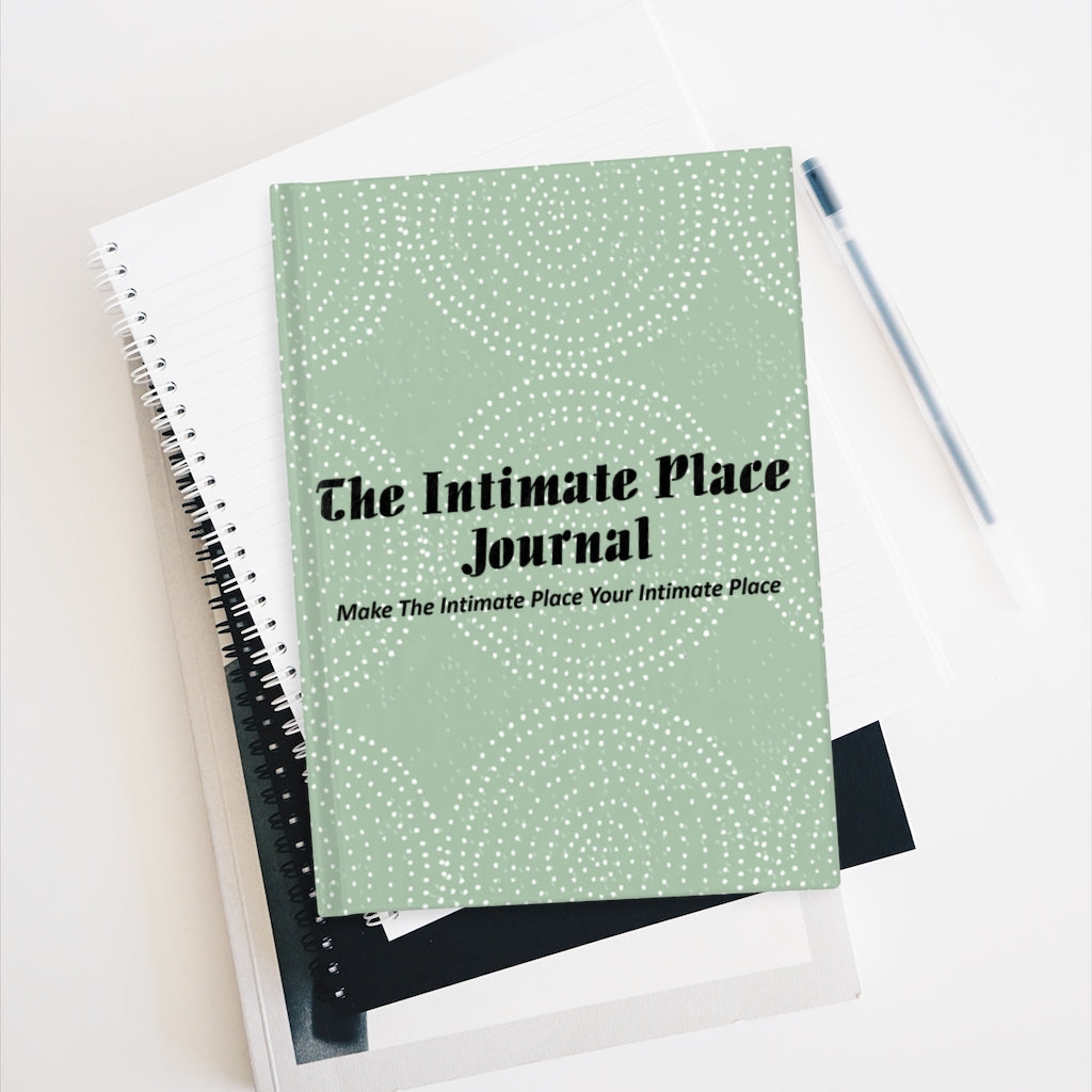The Intimate Place Journal - Ruled Line - Dotted