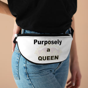 Purposely A Queen Fanny Pack