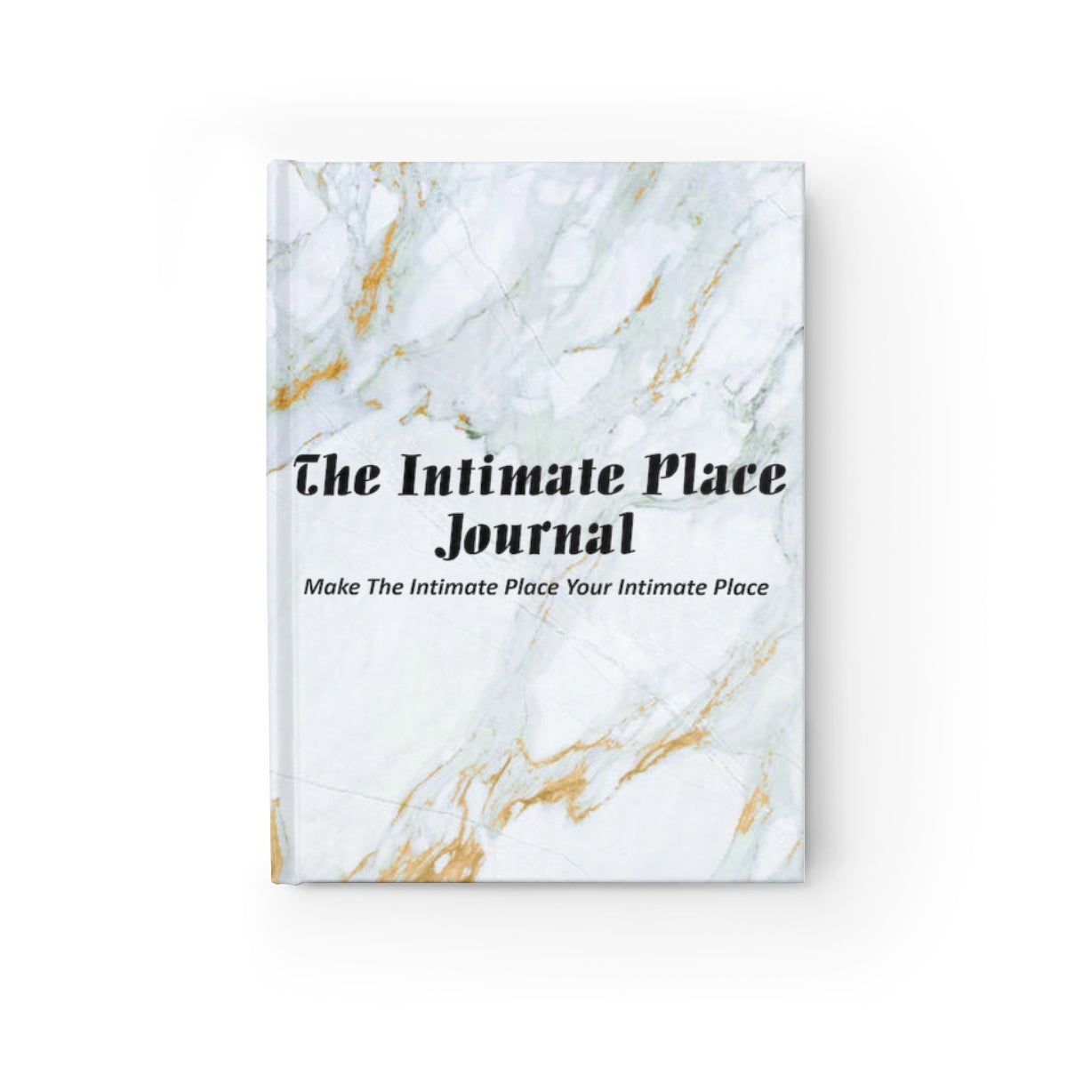 The Intimate Place Marble Journal - Ruled Line