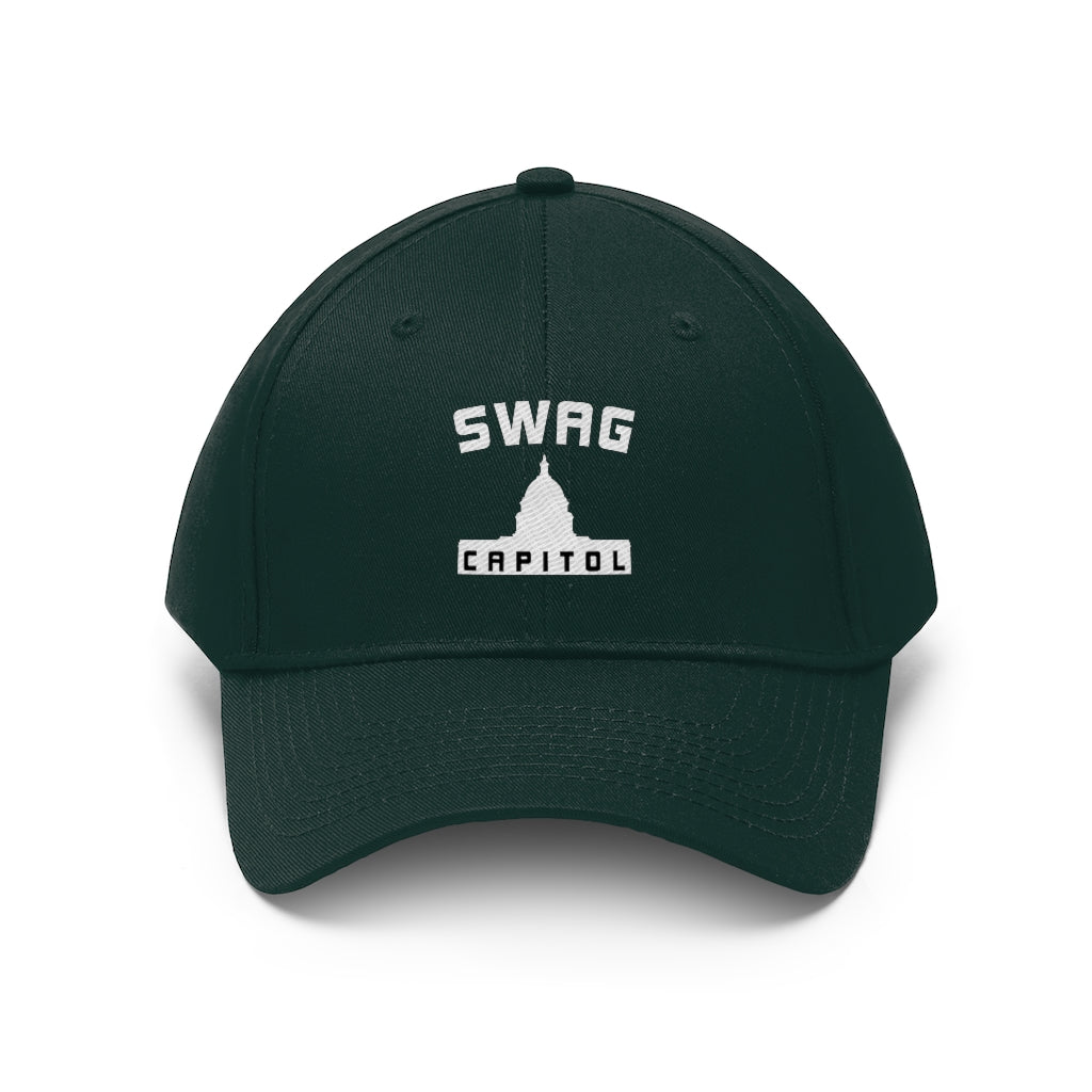 Swag Capitol Men's Twill Hat