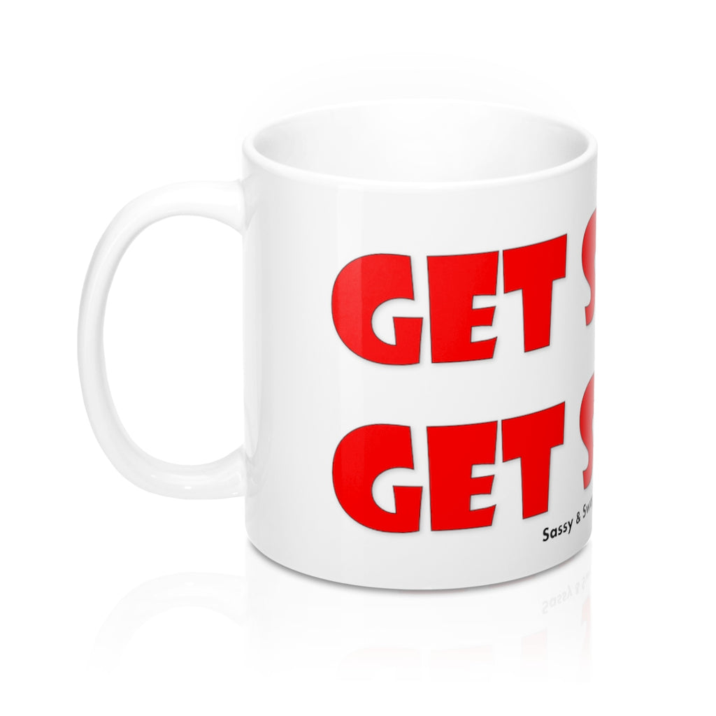 Sassy & Swag Collections - Get Sassy. Get Swag. Red, Mug 11oz