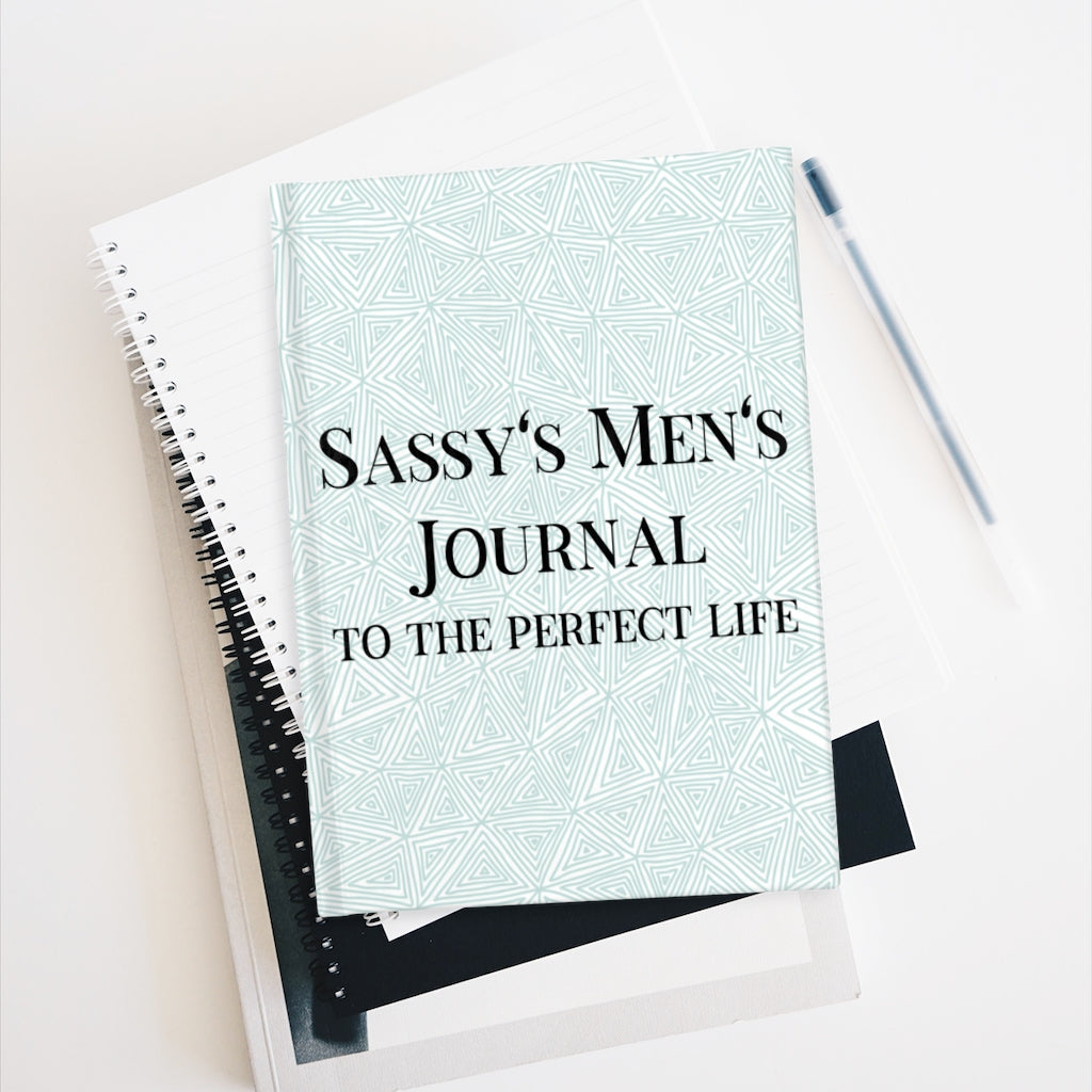 Sassy's Men's Journal - Ruled Line - Triangle