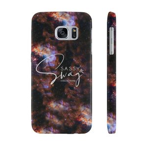 Sassy & Swag Collections Space Case Mate Slim Phone Cases