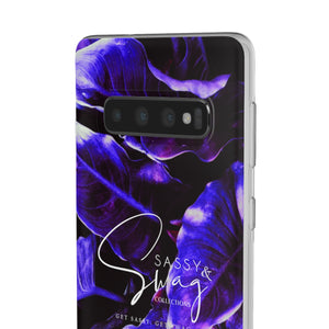 Sassy & Swag Collections Plant Leaves Flexi Cases