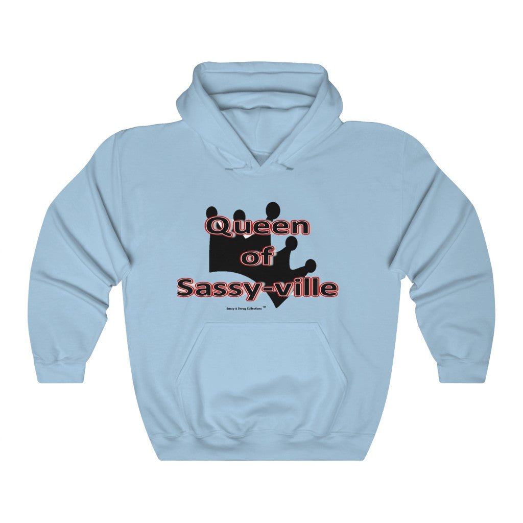 Sassy & Swag Collections - Queen of Sassy-ville Women's Heavy Blend™ Hooded Sweatshirt