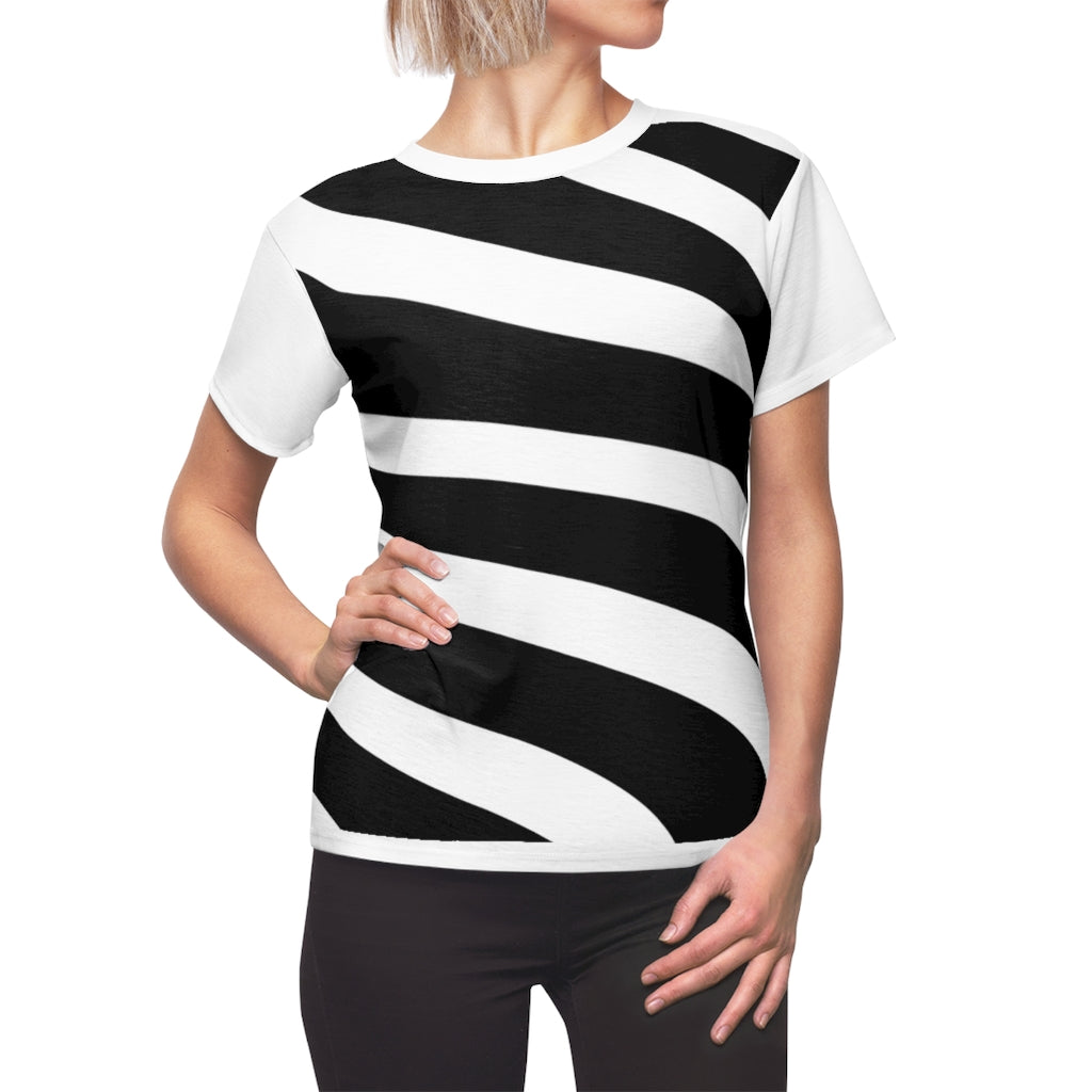 Sassy & Swag Collections Women's Tee - Zebra stripes