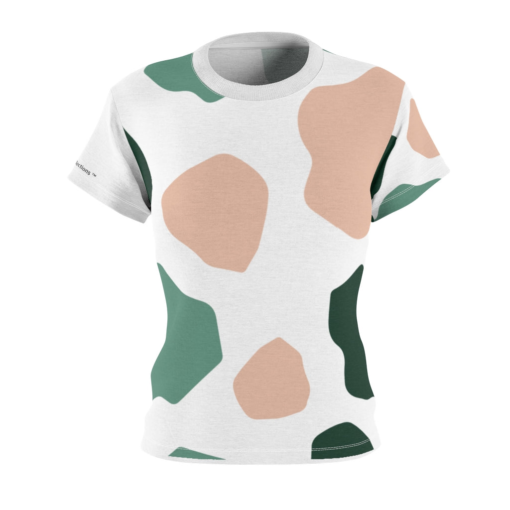 Multi-color Patch Women's Tee