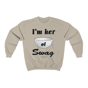Sassy & Swag Collections - I'm Her Cup of  Swag Men's Heavy Blend Sweatshirt