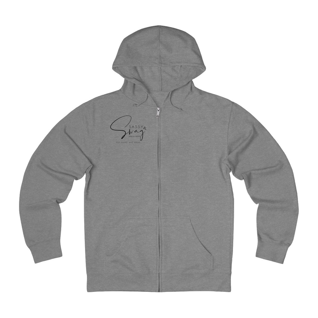 Sassy & Swag Collections - I'm 2 Swag 4 Drama Men's French Terry Zip Hoodie