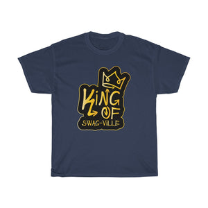 King of Swag-ville Men's Heavy Cotton Tee