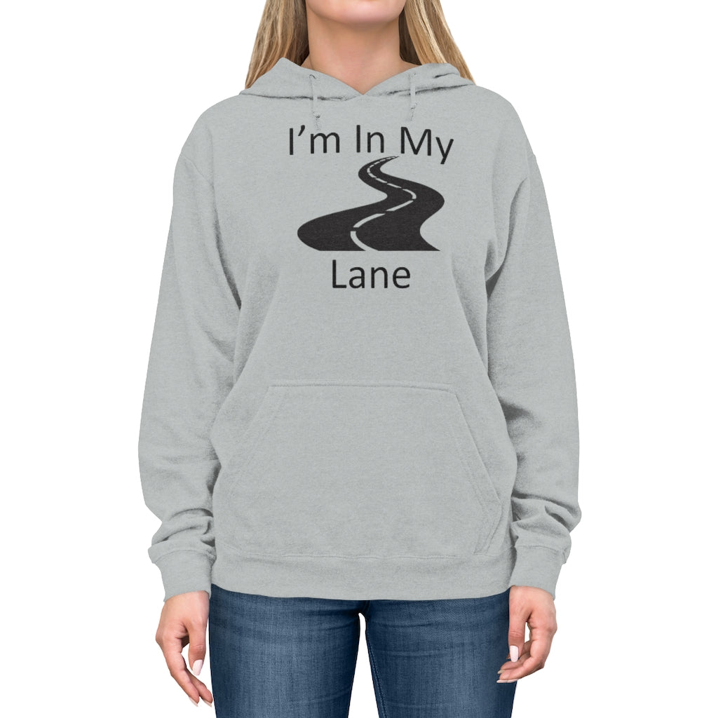 I'm In My Lane Men's Lightweight Hoodie