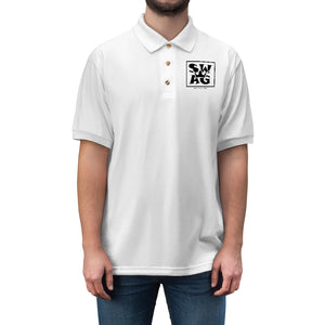 Sassy & Swag Collections - Swag King Men's Jersey Polo Shirt