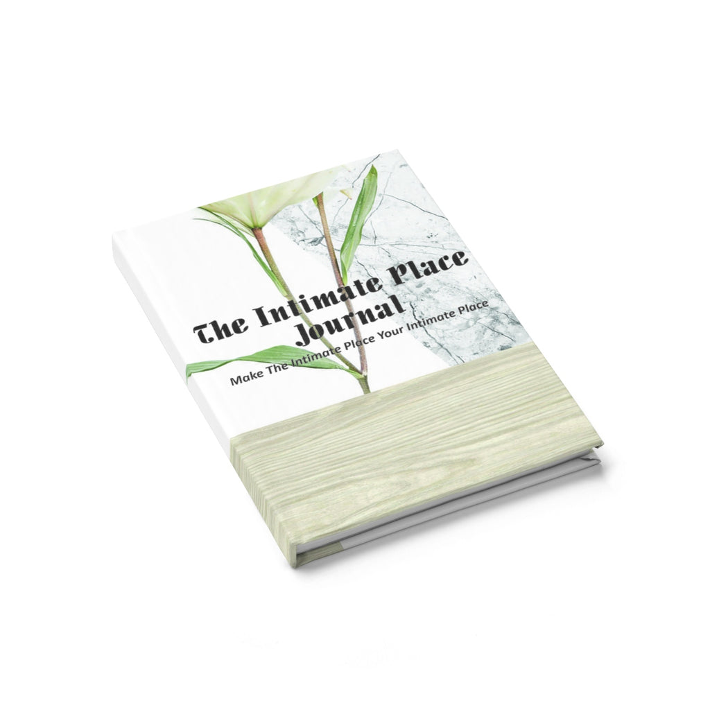 The Intimate Place Flower Journal - Ruled Line