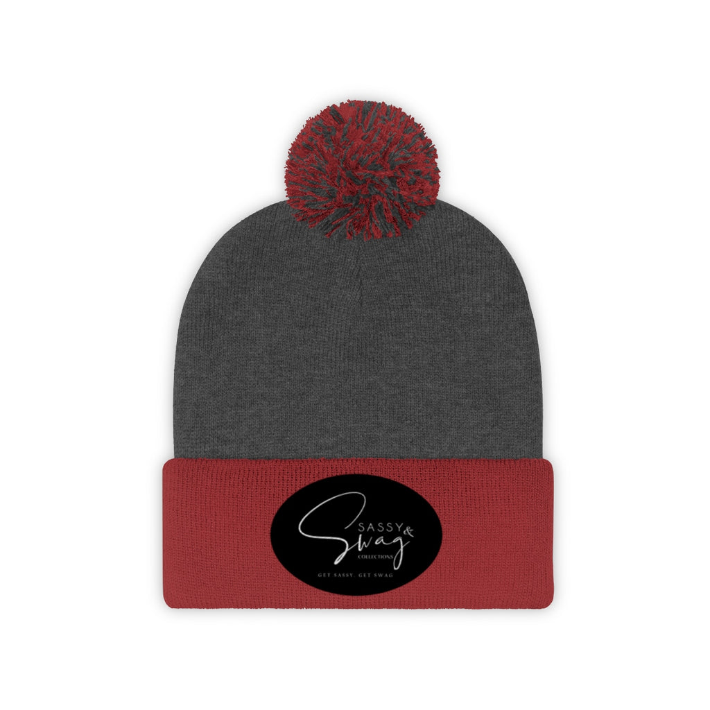 Sassy & Swag Collections Pom Pom Beanie