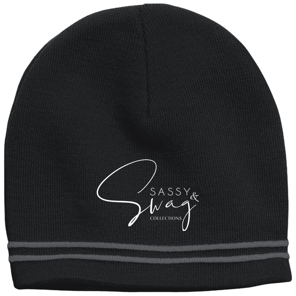 Sassy & Swag Collections  Colorblock Beanie