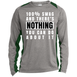 100% SWAG Long Sleeve Colorblock T-Shirt