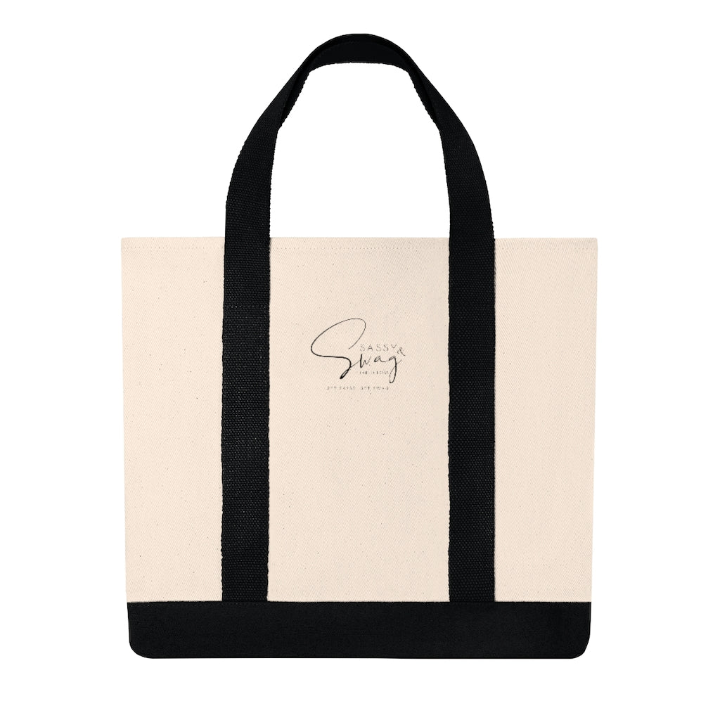 Sassy & Swag Collections Shopping Tote