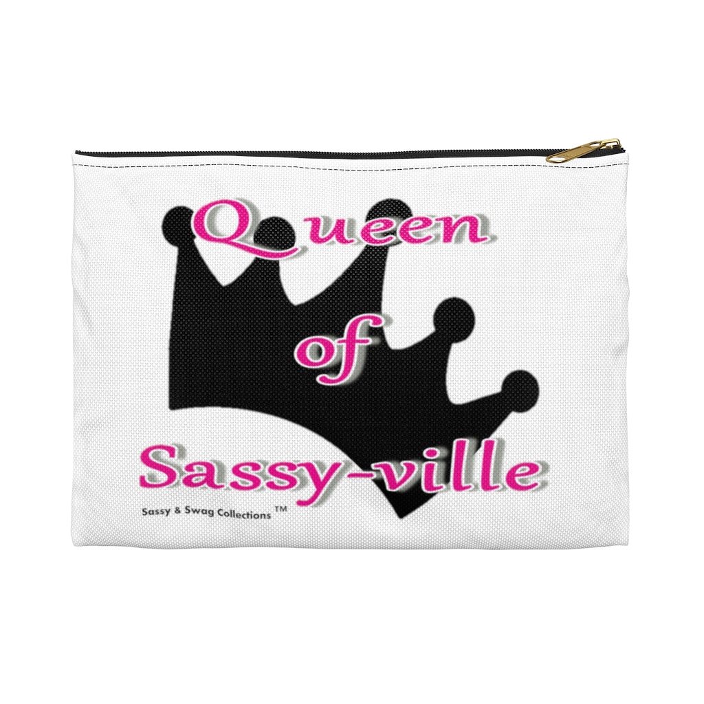 Sassy & Swag Collections - Queen of Sassy-ville Accessory Pouch