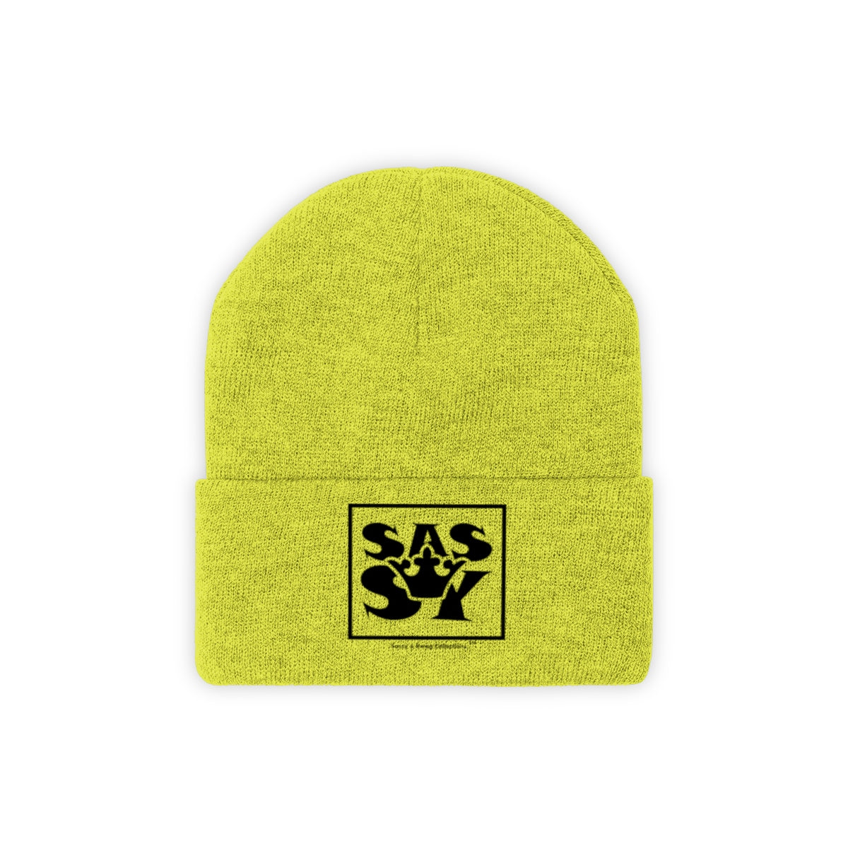 Sassy & Swag Collections - Sassy Queen Women's Knit Beanie