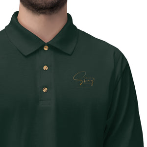 Sassy & Swag Collections Men's Jersey Polo Shirt
