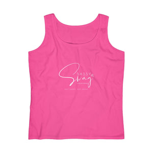Sassy & Swag Collections Women's Lightweight Tank Top