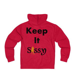 Sassy & Swag Collections - Keep It Sassy Women's French Terry Zip Hoodie