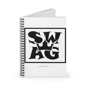 Sassy & Swag Collections - Swag King Spiral Notebook - Ruled Line