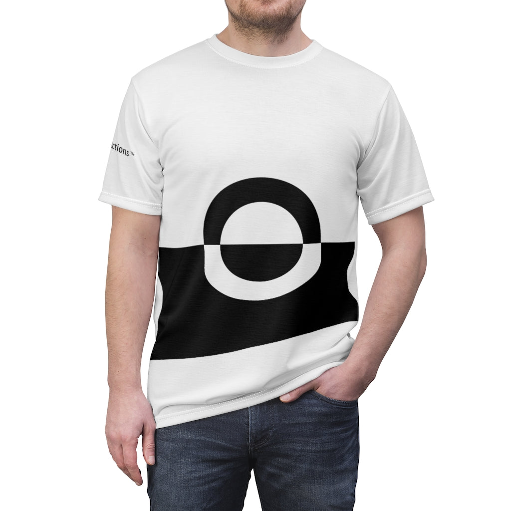 Men's Black & White Design Tee