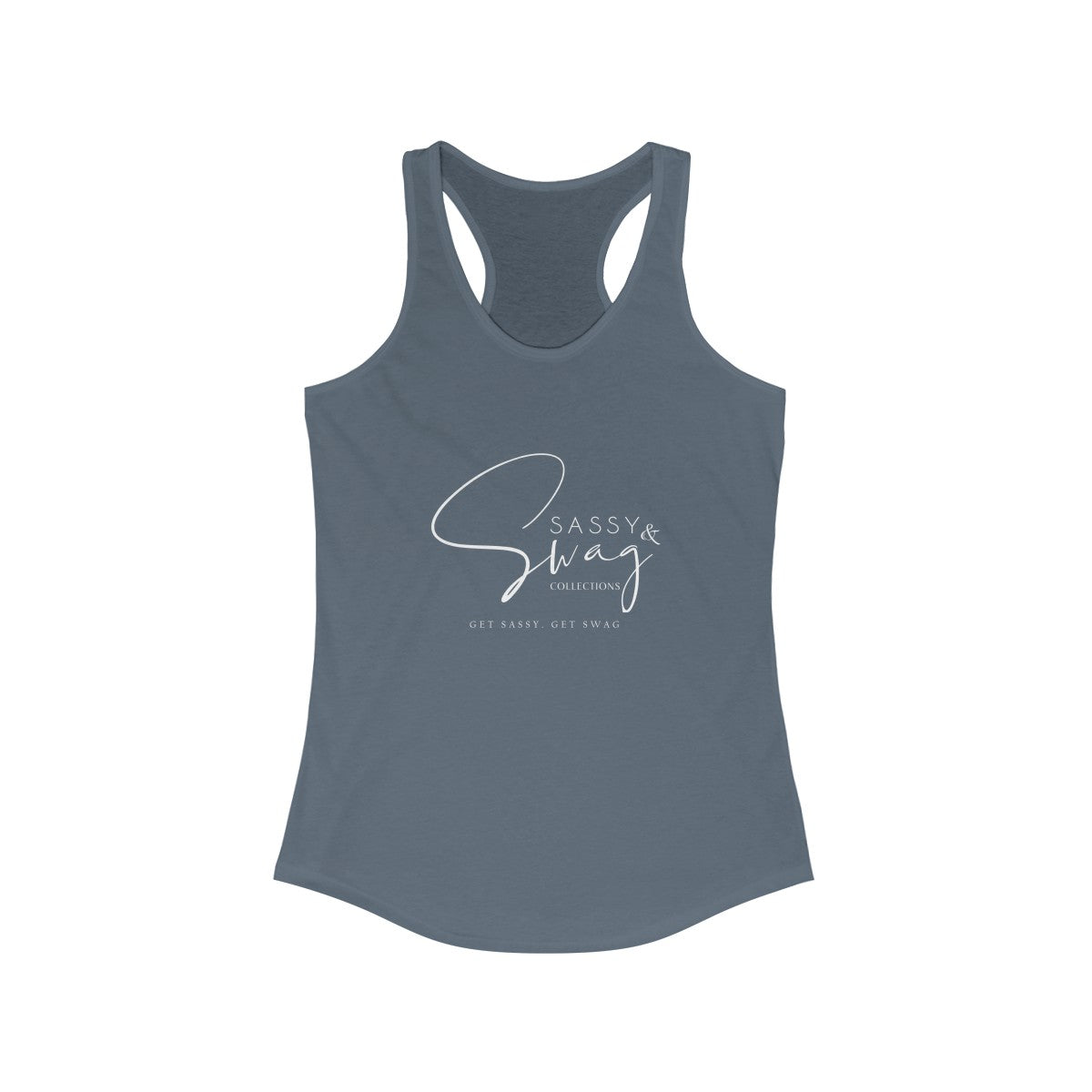 Sassy & Swag Collections Women's Ideal Racerback Tank