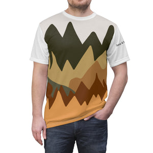 Men's Mountainous Design Tee