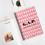 G.A.P. (God Always Provide) Spiral Notebook - Ruled Line