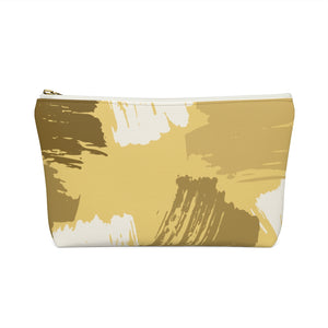 Brown Patches Accessory Pouch w T-bottom